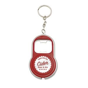 LED Key Chain with Bottle Openers (1 Color)